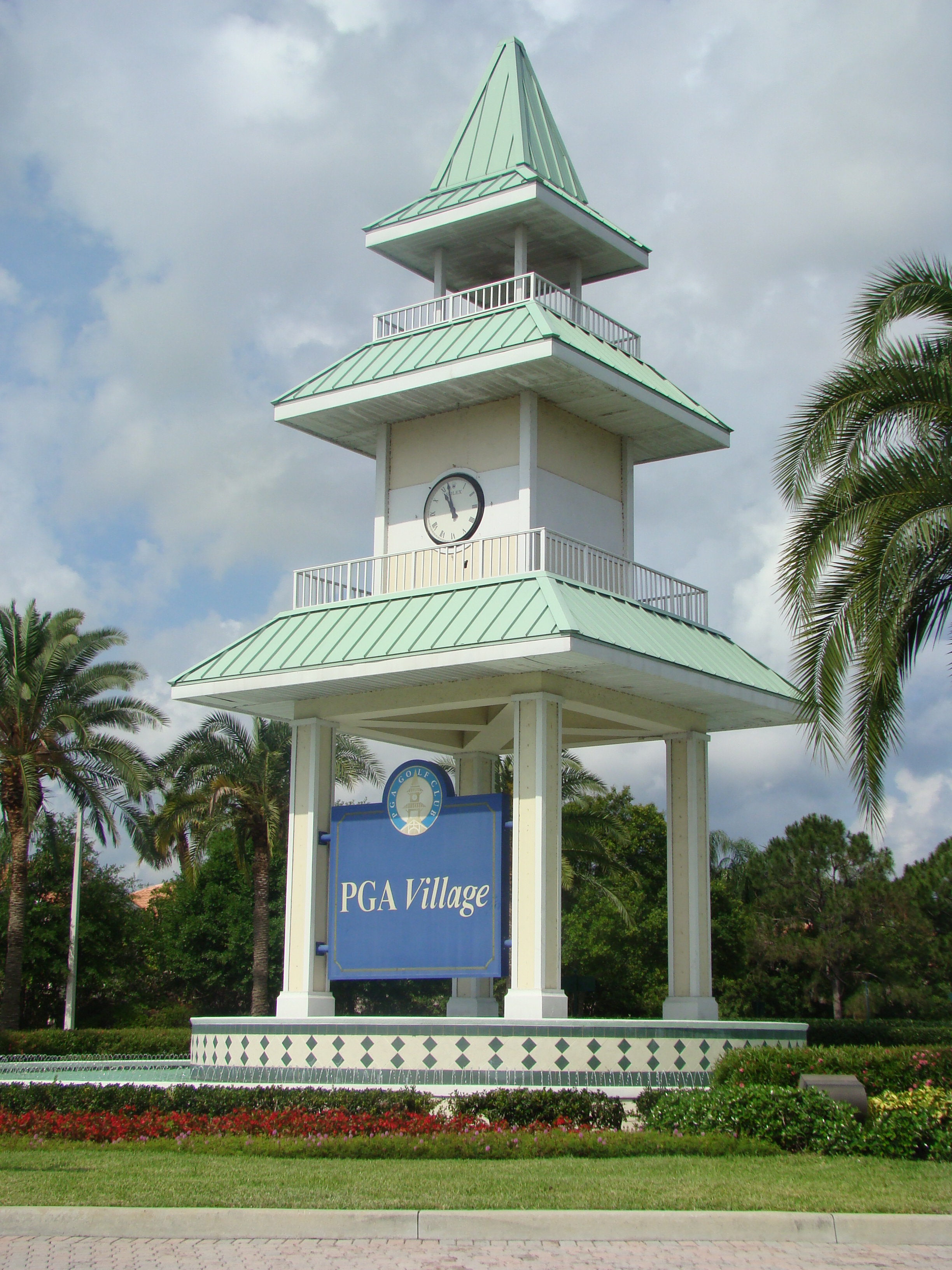 PGA Village Clock Tower