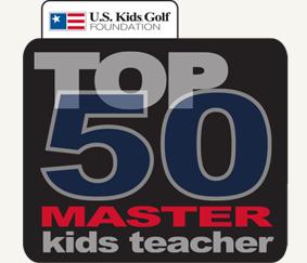 Mike Fay Named U.S. Kids Golf Top 50 Master Kids Teacher