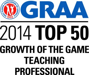 GRAA Top 50 Growth of the Game Teaching Professional
