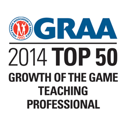 Fay Named Top 50 Growth Of The Game Teaching Professional