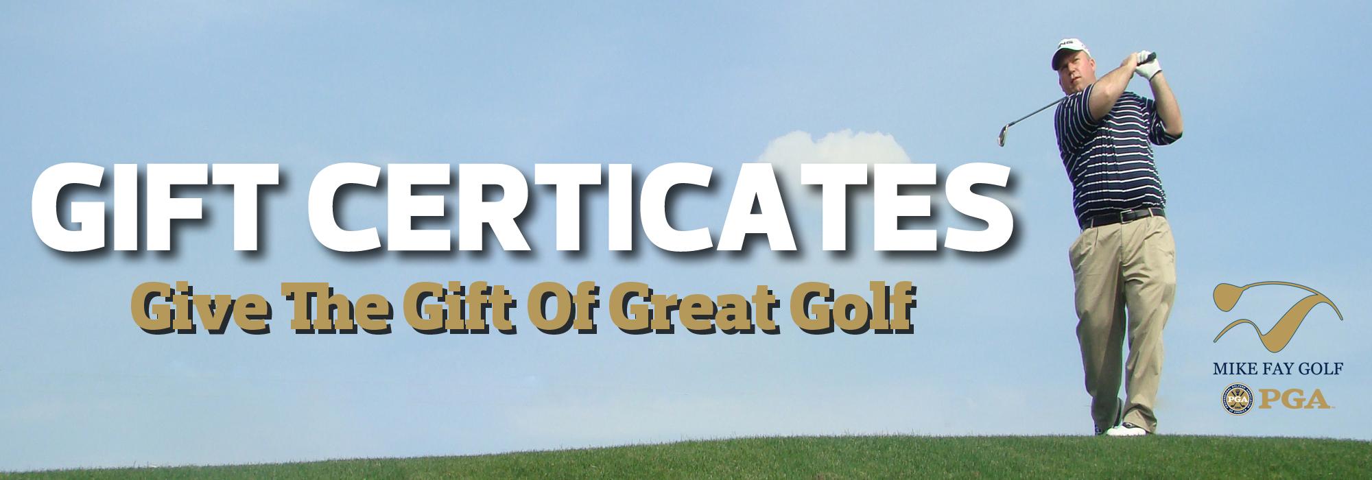 MFG Gift Certificates