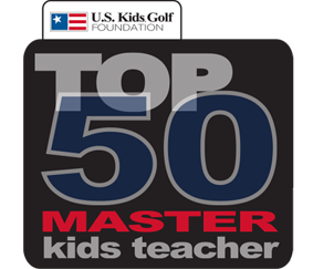 US Kids Golf Master KIds Teacher Logo Transparent