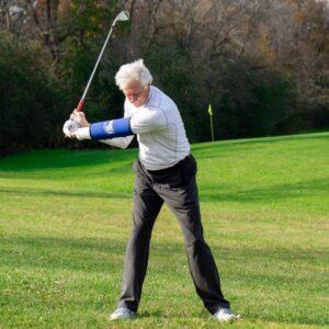 Straight Arm Golf Training Aid