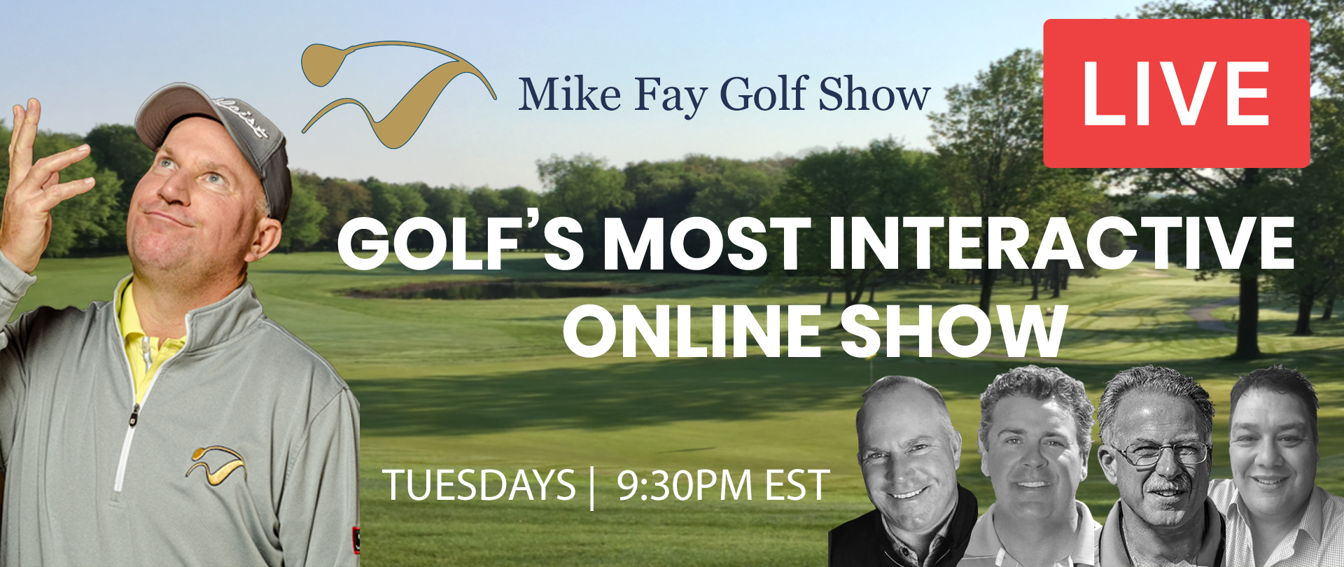 MFG Show Golf Most Interactive Online Show